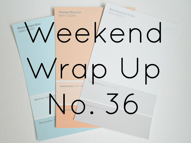 Weekend Wrap Up No. 36 from Courtney's Little Things