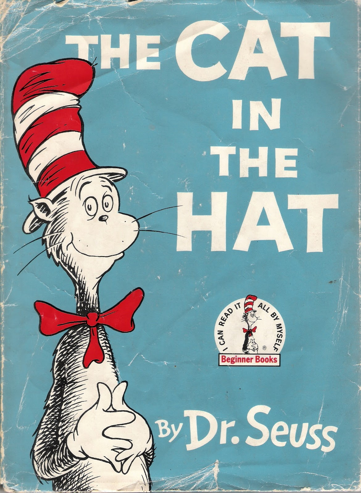 Beautiful 65quot 10quot Dr Seuss Cat Hat Face Wall Sticker Glossy Cut Out