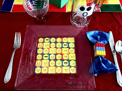 Lego Party Tablescape