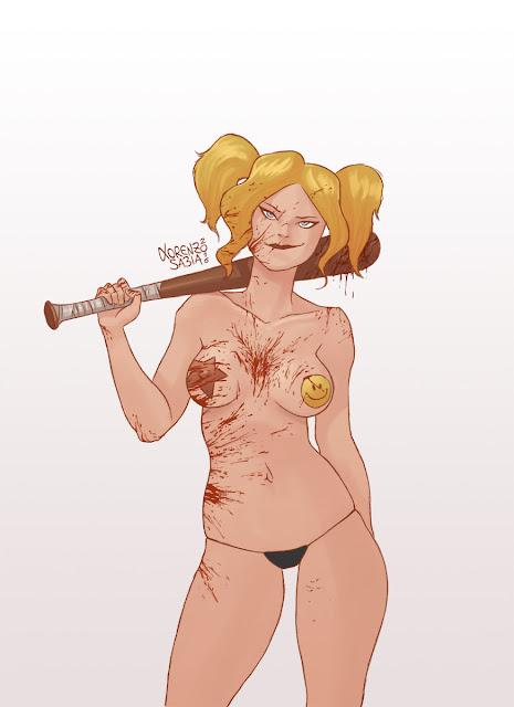 Harley Quinn by Lorenzo Sabia