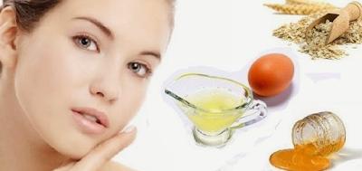 Perawatan Wajah Dengan Masker Putih Telur