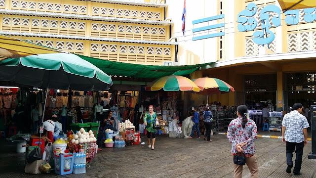 Central Market (Psah Thmei) Phnom Penh