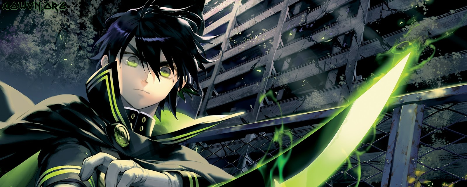 5395 SeriesHeader Tier02 SPH 2000x800 - [ Anime 3gp Mp4 ] Owari no Seraph SS1 + SS2 + OVA | Vietsub - Hấp dẫn