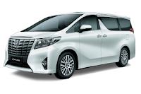 Daftar Harga Atau Pricelist Toyota Alphard Bandung