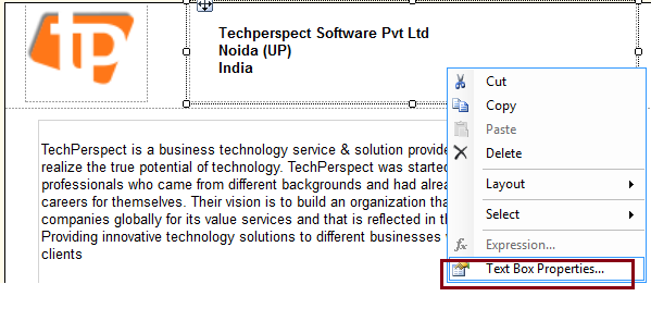 TechPerspect Blog: Repeat Header on every page in SSRS Report