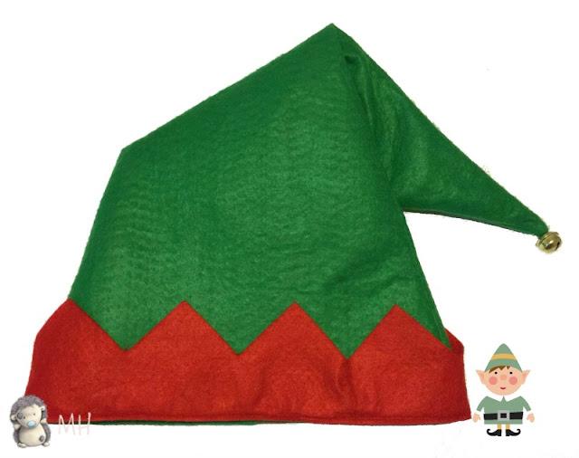 Gorrito de elfo en fieltro