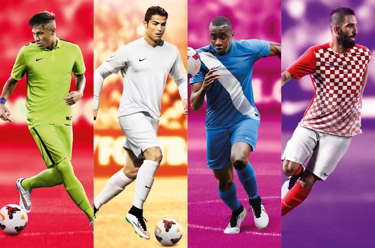 1c29f8ec7 Nike 2015-16 Teamwear Kits Unveiled - Footy Headlines