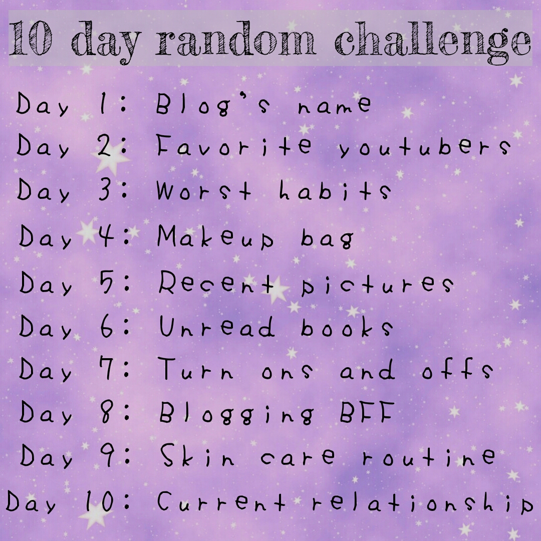 10 Day Random Challenge - Unread Books | Lenne Zulkiflly