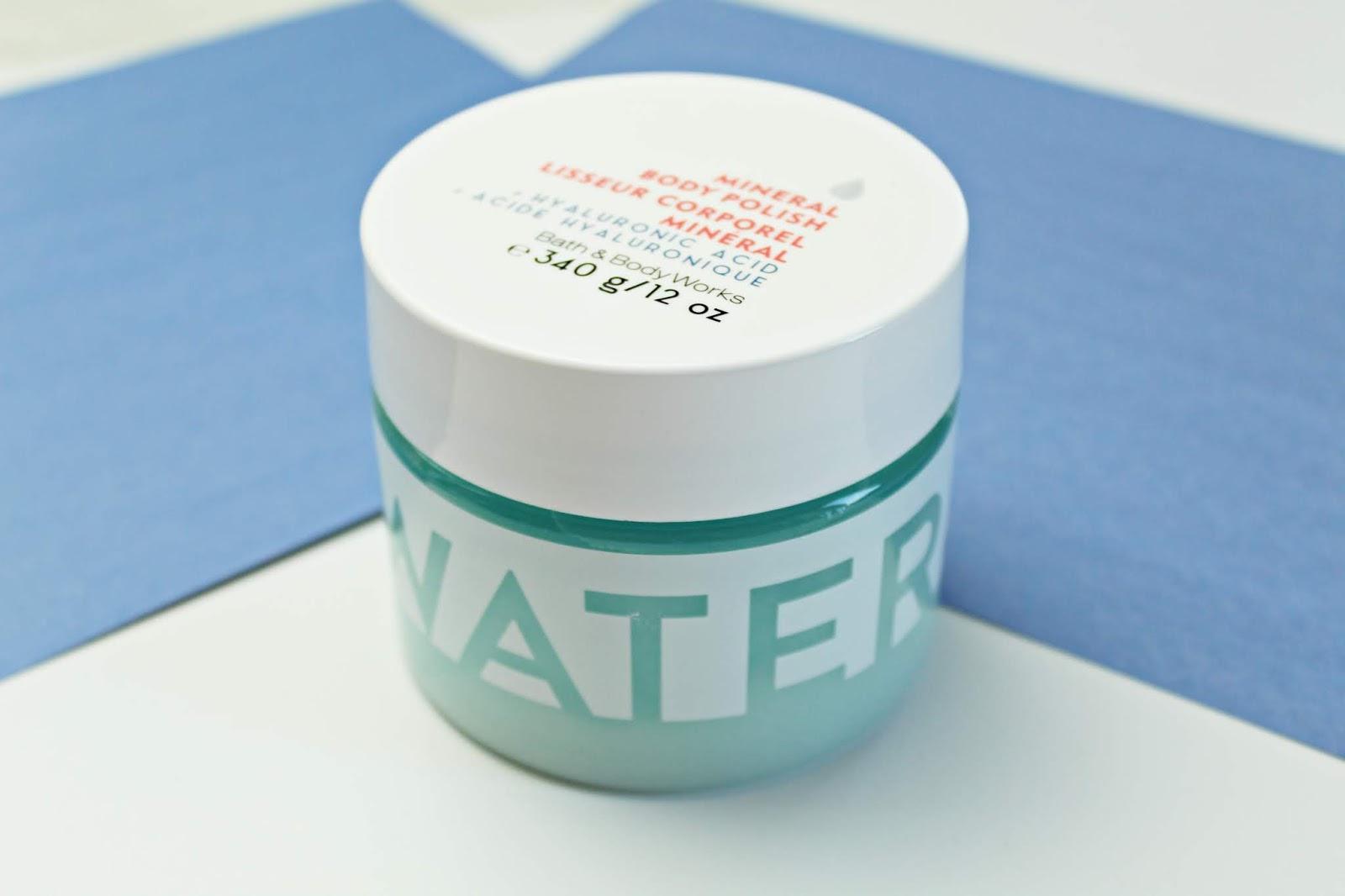 WATER Hyaluronic Acid Mineral Body Polish bath&body works