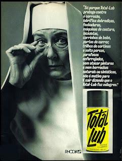 propaganda lubrificante Total Lub - 1976. reclame de carros anos 70. brazilian advertising cars in the 70. os anos 70. história da década de 70; Brazil in the 70s; propaganda carros anos 70; Oswaldo Hernandez;