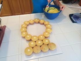 Erin S Edible Indulgences Pull Apart Engagment Ring Cake