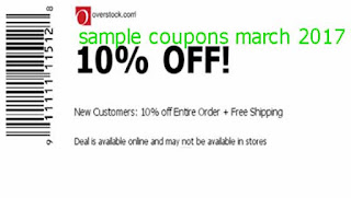 free Overstock coupons march 2017
