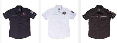 Camisas manga corta para peques