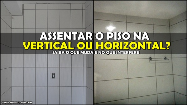 piso no vertical e horizontal