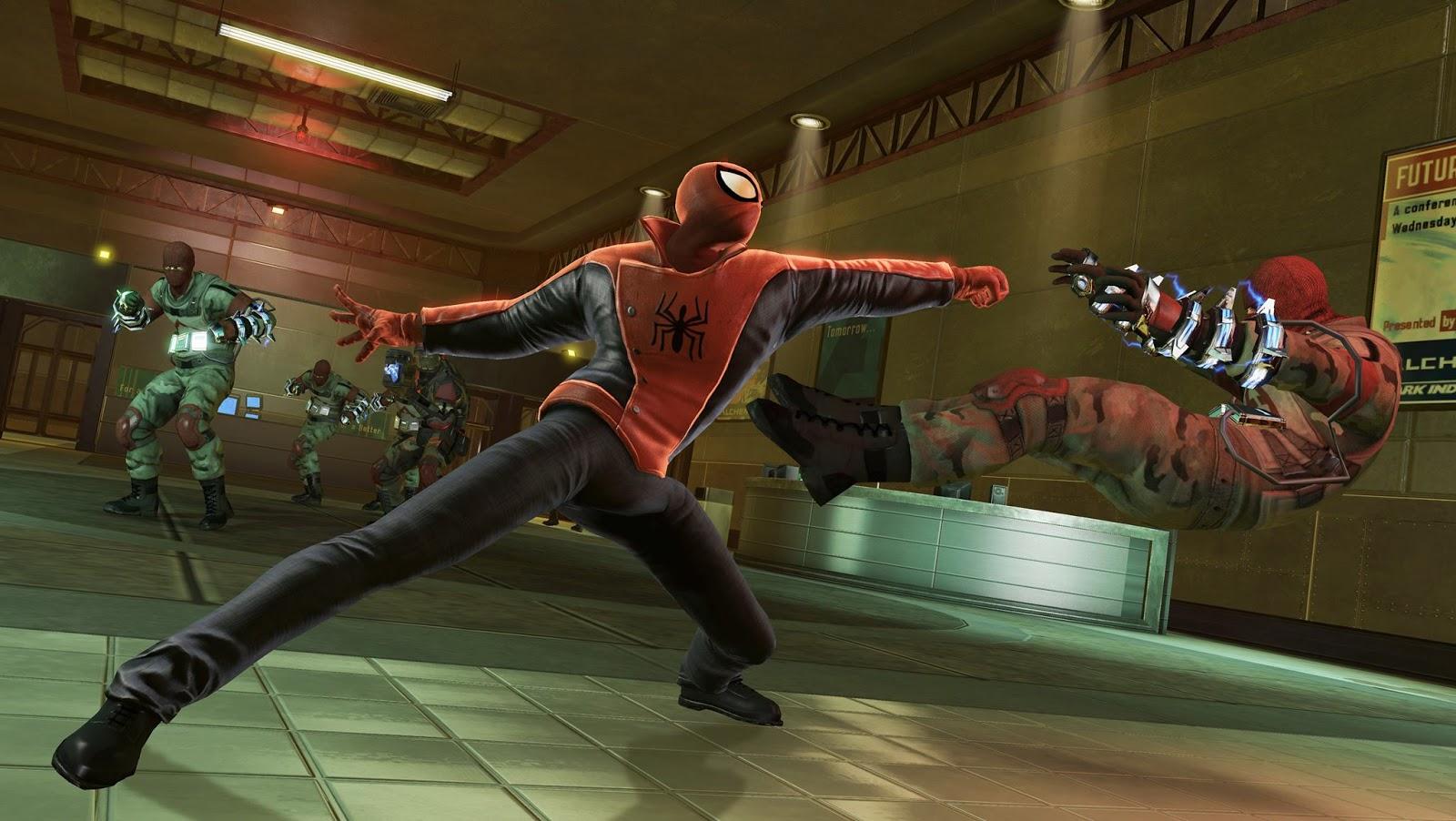 Скачать amazing spider man 2 на компьютер