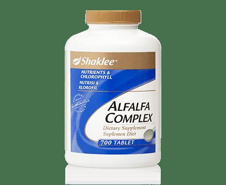 Alfalfa large shaklee untuk detox
