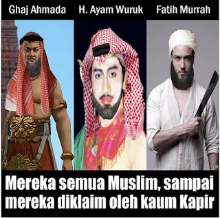 Meme Comic Gaj Ahmada - Gajah Mada Beragama Islam, Benarkah ?