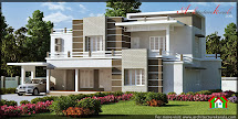 Beautiful Contemporary Style Elevation - Architecture Kerala
