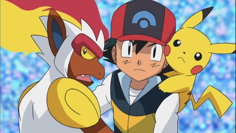 Ash e Infernape Liga Pokémon