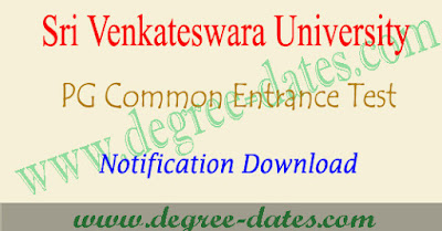 SVUCET 2018 notification, online apply, hall ticket, results svupgcet