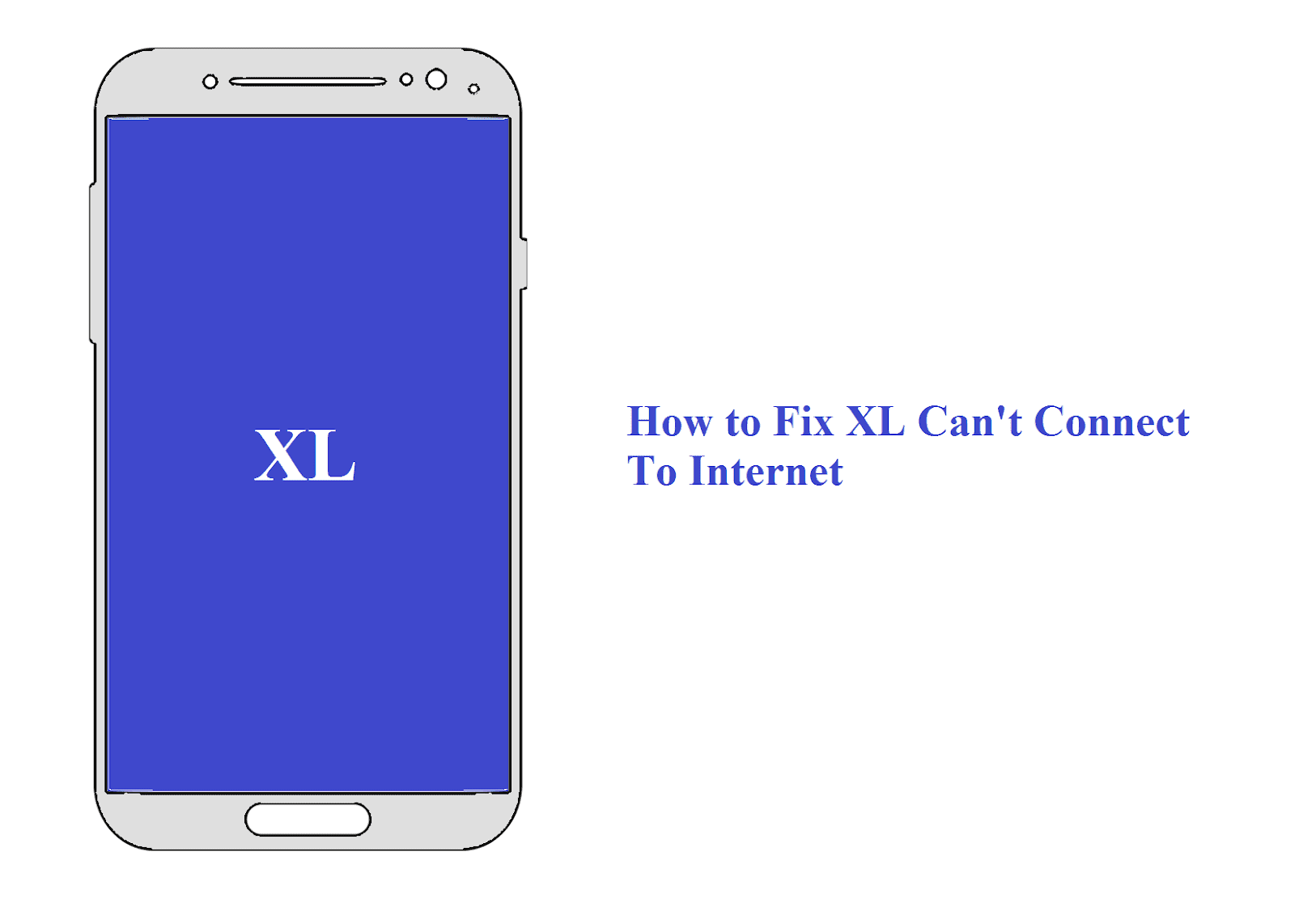 XL tidak bisa konek internet