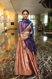 Aditi Rao Hydari Stills in Lehenga Choli at Cheliyaa Telugu Movie Audio Launch Event  0004.JPG