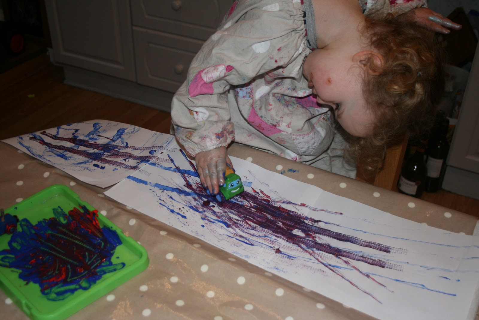 Paint Tracks The Imagination Tree