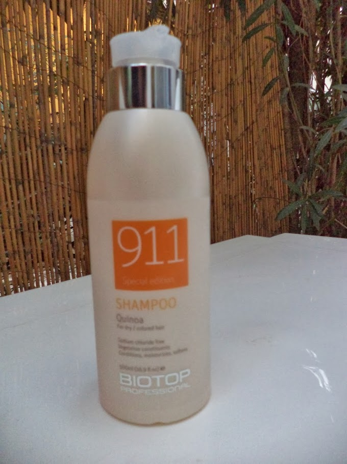 Beauty made fun: Review: Biotop Professional Quinoa 911 shampoo for dry and damaged hair