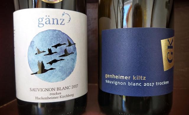 Sauvignon blanc Weingut Gänz und Weingut Genheimer-Kiltz