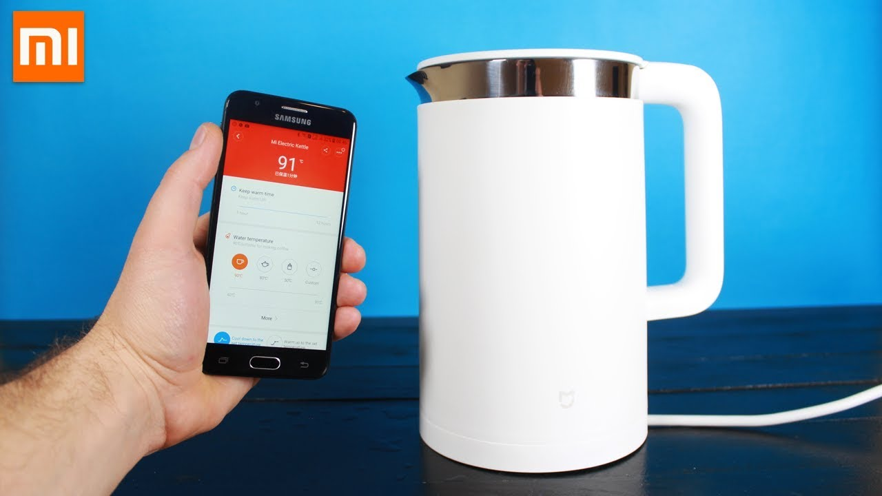 Xiaomi Home: Home Sweet Home: Connected Kettle From Xiaomi: Presentation
