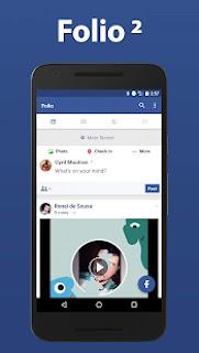 تحميلFolio 2 for Facebook & Messenger v3.2.16 [Premium] Apk,