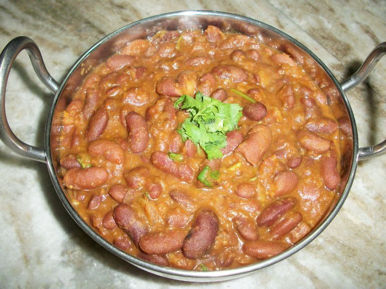 Rajma Curry Kidney Beans Gravy Yummy Tummy