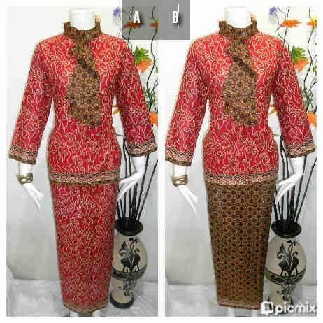 Baju Batik Setelan Rok Blouse Terbaru Baju Batik Modern Dan Terbaru