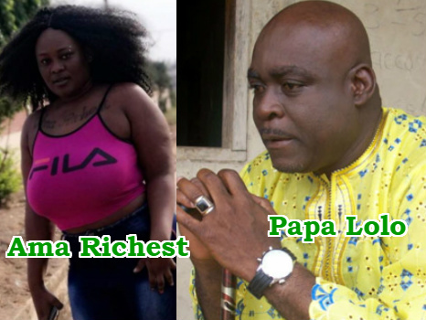Kofi Adjorlolo son sleeping ama richest
