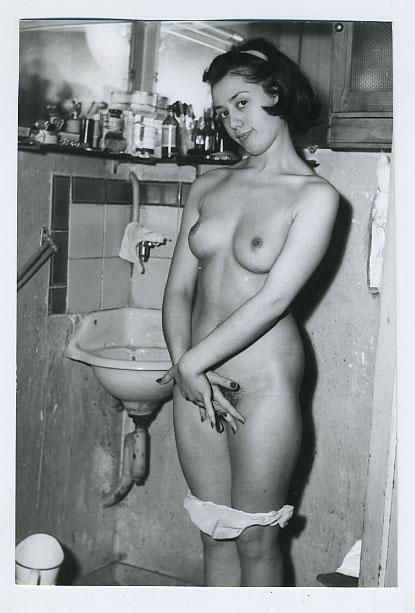Classic Vintage retro Erotica: Jeanne Dubois, Classic Erotic Model