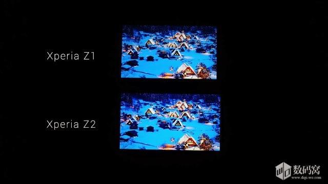 何でも良いから日々発見: 【IPS:VA】XperiaZ2とXperiaZ1の液晶比較