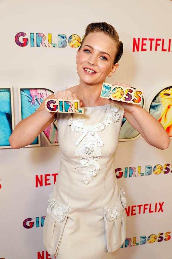 Britt Robertson na Premiere de Girlboss | Blog #tas