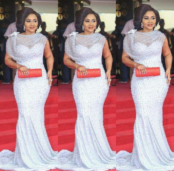 mercy aigbe outfit at amvca 2016