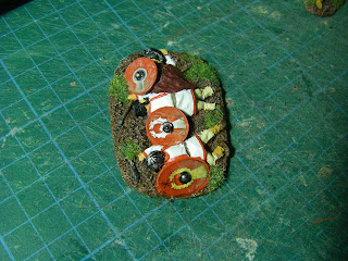1st Corps 28mm Late Roman Casualty Markers