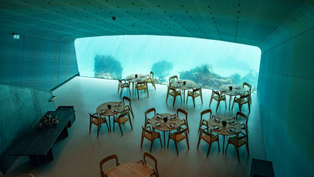 Underwater Restaurant Just Opened and It Already Has a 6-Month Waitlist