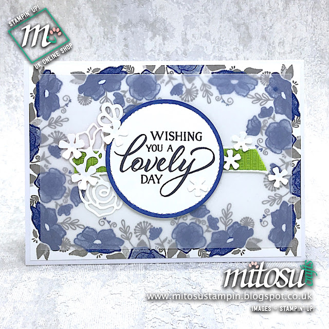 Forever Lovely Stampin' Up! Card Idea. Order papercraft products from Mitosu Crafts UK Online Shop