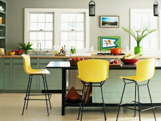 Decorating ideas and design Modern minimalist Kitchen Themed Citrus