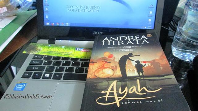 Novel Ayah karya Andrea Hirata tahun 2015