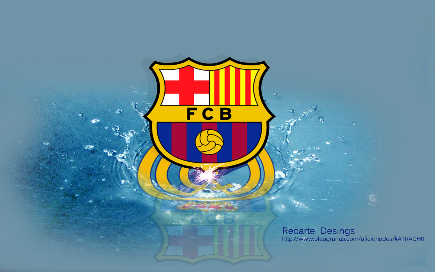 Mikewwigen Stuff Beautiful Fc Barcelona Logo 2012 Wallpaper Hd On 1440x900 Widescreen