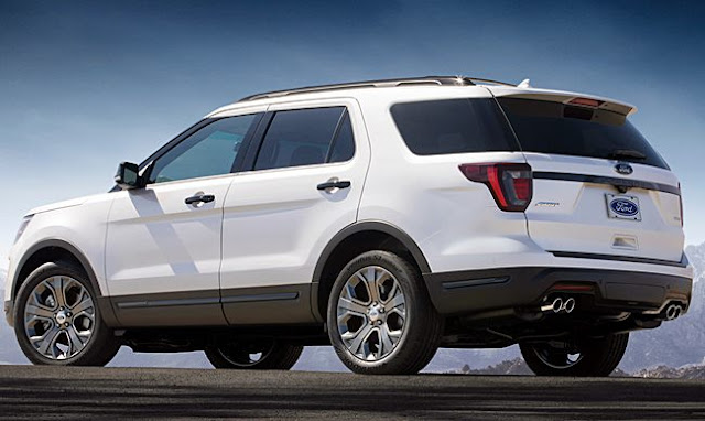 2019 Ford Explorer Redesign Review