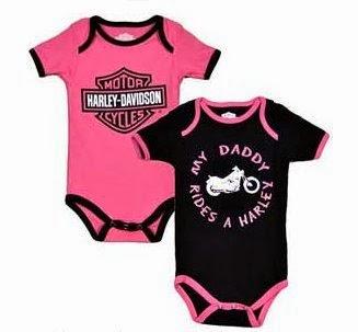 Harley davidson baby clothes for a girl | Babyallshop.blo.com