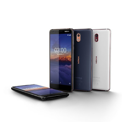Nokia 3.1 launched in US for $159