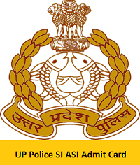 UP Police SI ASI Admit Card