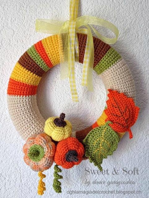 10 Patrones Otoñales a Crochet Gratis - Arte Friki