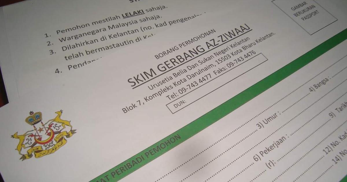 Erti Kehidupan Nak Nikah Pn Dapat Rm1000 Dr Kerajaan Negeri Kelantan